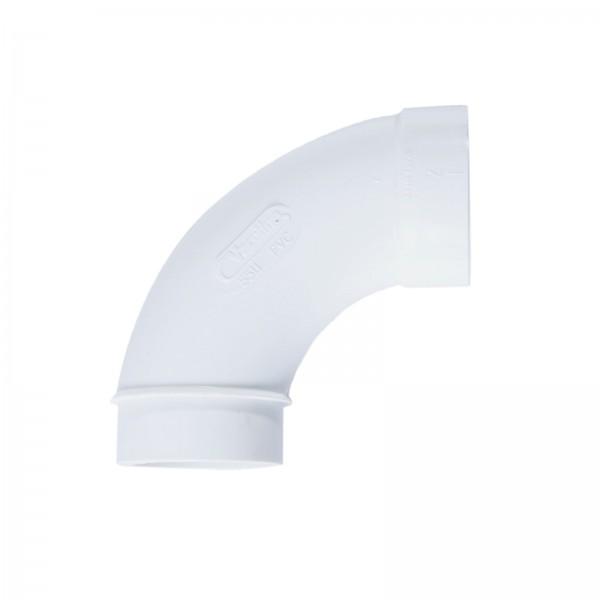 "Bogen 90° Spigot für 2"" PVC-Vakuumrohrleitung"